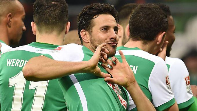 """""""Wir wollen was holen, das ist unsere Idee"""": Claudio Pizarro."""