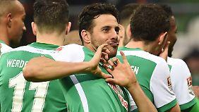 Es ist Liebe: Werder und Pizarro!