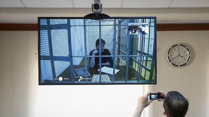 Sawtschenko ist seit einer Woche im Hungerstreik.(Archivbild)