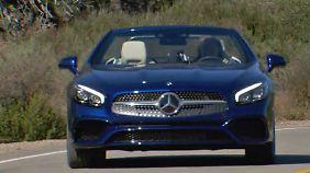 Von der Küste in die Berge: Probefahrt im neuen Mercedes SL 500