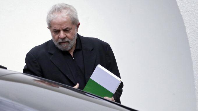 Unter Druck: Brasiliens Ex-Präsident Lula