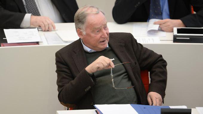 Alexander Gauland sitzt für die AfD im Potsdamer Landtag.
