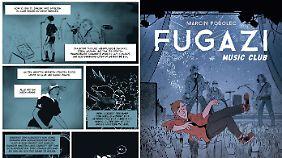 """""""Fugazi Music Club"""" ist bei Egmont Graphic Novel erschienen, 240 Seiten in Klappenbroschur, 22,99 Euro."""