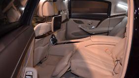 Sicheren Luxus gibt es im Innenraum. Nur die über 160 Kilogram schweren Türen möchte man nicht selber öffnen.