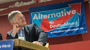 Landtagswahlen am Wochenende: AfD steht vor Einzug in drei Landtage