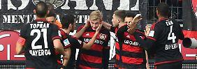 Eigentor und Abschlussschwäche: HSV stoppt Leverkusens freien Fall