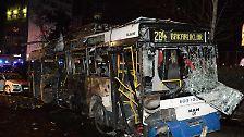 Autobombenanschlag in Ankara: Viele Menschen sterben bei Attentat