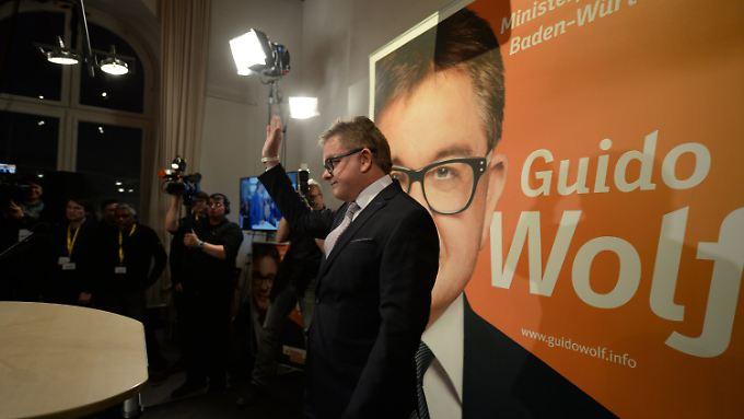 Klarer Verlierer: CDU-Spitzenkandidat in Baden-Württemberg, Guido Wolf.