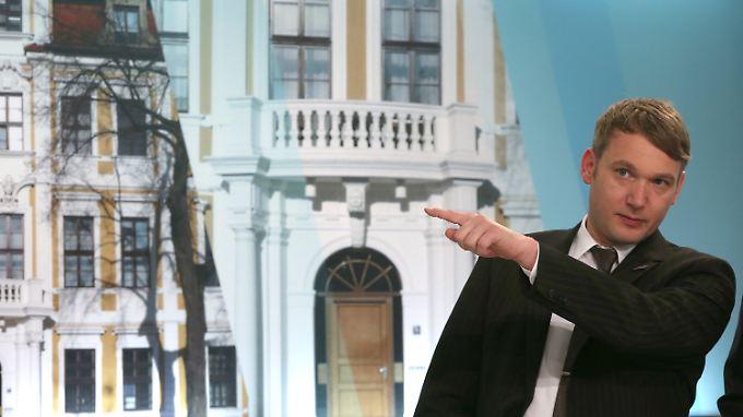 André Poggenburg ist Fraktionsvorsitzender der AfD in Sachsen-Anhalt.