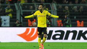 Dortmunds Pierre-Emerick Aubameyang steht weiter ganz oben auf der Wunschliste von Real Madrid.