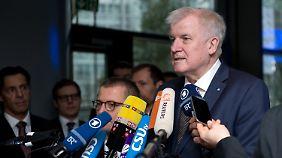 """CSU-Chef Seehofer über Landtagswahlen: """"Es geht um den Bestand der Union"""""""