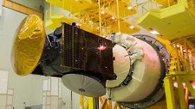 Der Orbiter und das Testlandegerät Schiaparelli.