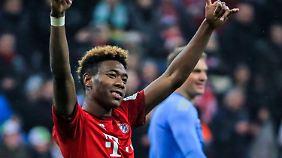 Dem FC Bayern treu: David Alaba.