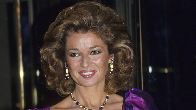 Das war 1987: Stephanie Beacham auf dem Höhepunkt ihrer Schauspielkarriere.