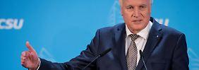 Schuldzuweisung nach den Landtagswahlen: Seehofer macht Merkel für CDU-Schlappe verantwortlich