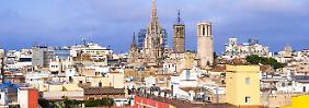 """Unterschiedlich große Urlaubskasse: """"Oben und unten"""" in Barcelona"""