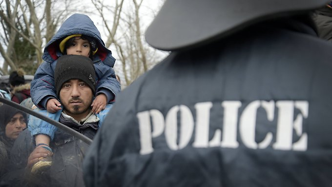 Griechenland: Organisierte Aktion: Mazedonische Polizei beendet Fluchtversuch aus Idomeni