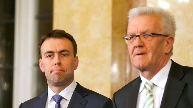 Letzte Option Grün-Schwarz?: SPD erteilt CDU in Baden-Württemberg eine Abfuhr