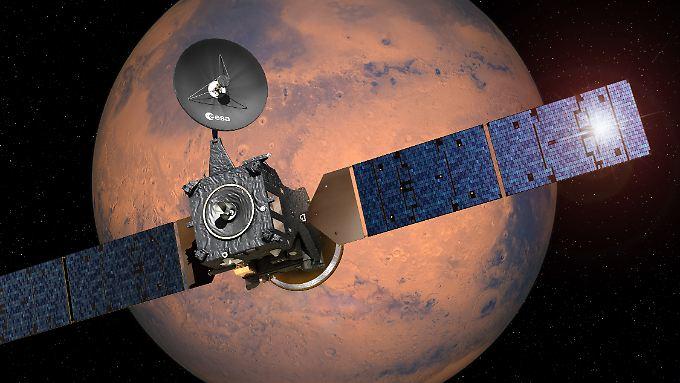 Vorreiter für bemannte Mars-Flüge: ExoMars-Raumsonde sendet erste Signale