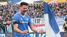 """""""Da kann ich nur den Kopf schütteln, das finde ich unglaublich"""": Sandro Wagner."""