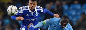 Königsklassen-Krampf gegen Kiew: Man City rumpelt ins CL-Viertelfinale