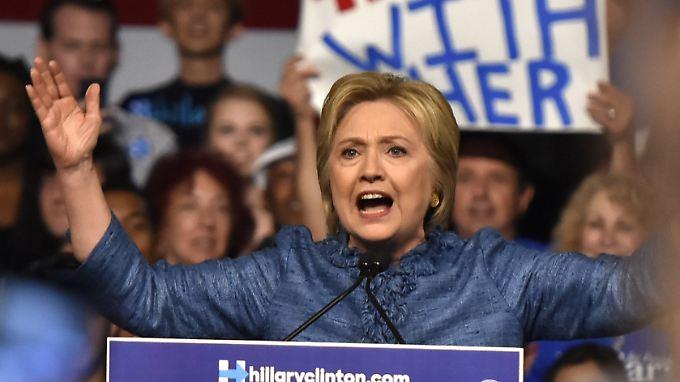Alle fünf Staaten hat Hillary Clinton nun auch offiziell am Dienstag gewonnen.