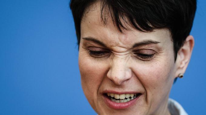 An Kritik müsste Frauke Petry mittlerweile gewöhnt sein.