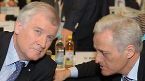 Vor EU-Türkei-Gipfel in Brüssel: CSU droht Angela Merkel mit Blockade