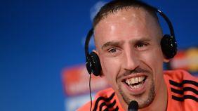 """Zumindest ein Teil von Bayerns """"Robbery"""" ist gegen Juventus dabei."""