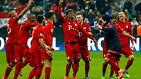 Der FC Bayern München hat nach einer irren Aufholjagd das Viertelfinale der Champions League erreicht und den Traum vom Triple mit Ach und Krach am Leben erhalten.