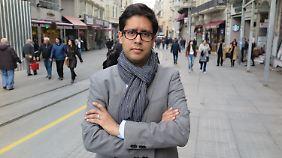"""Hasnain Kazim arbeitete zweieinhalb Jahr für den """"Spiegel"""" in der Türkei."""