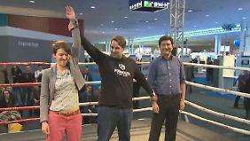 Gründer auf Suche nach Investoren: Startup-Gründer steigen auf der Cebit in den Ring
