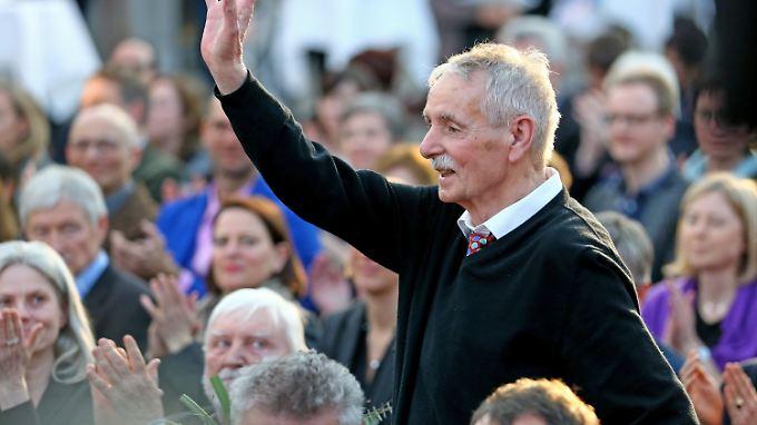 """Der 74-jährige Guntram Vesper wird für seinen Roman """"Frohburg"""" ausgezeichnet."""
