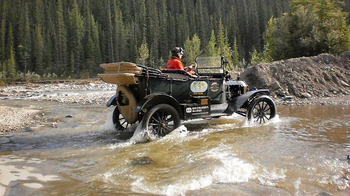 Seit mehr als 100 Jahren ist das Ford T-Modell jetzt auf den Rädern.