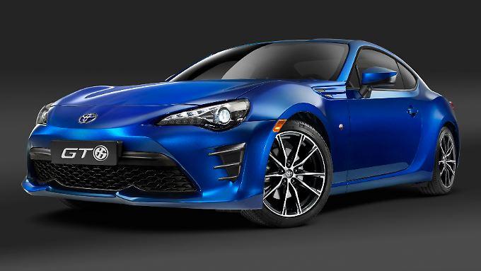 Toyotas geliftetes Sportcoupé GT 86 feiert seine Premiere auf dem New Yorker Autosalon Ende März.