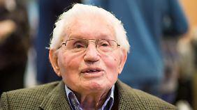 Jakob Wendel sagt im Prozess aus. Der ehemalige SS-Wachmann wurde bereits in Polen juristisch verfolgt.