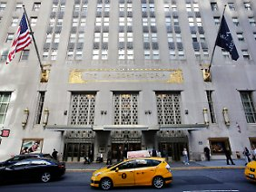 Gehört den Chinesen: Das Waldorf-Astoria in Manhattan.
