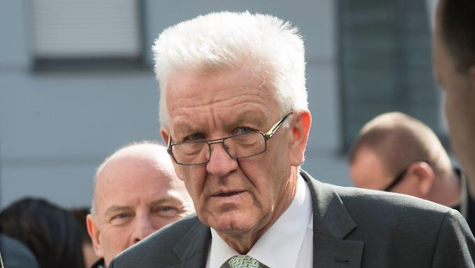 Winfried Kretschmann führt vielleicht die bundesweit erste grün-schwarze Koalition.