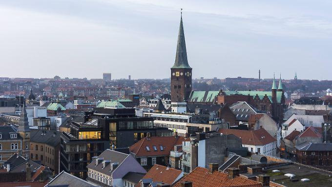 Die Innenstadt von Aarhus will sich 2017 Europa als Kulturhauptstadt präsentieren.