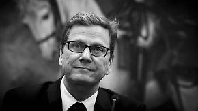 """""""Ein verlässlicher und treuer Mensch"""": Deutschland trauert um Guido Westerwelle"""