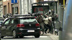 Insgesamt wurden in Brüssel fünf Verdächtige festgenommen.