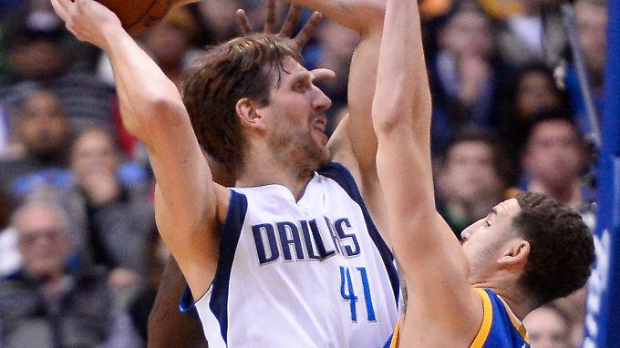 Dirk Nowitzki war mit 24 Punkten und neun Rebounds erfolgreichster Spieler der Mavericks. Gereicht hat das trotzdemnicht.