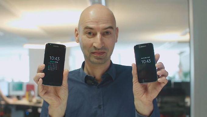 n-tv Ratgeber: Der erste Blick: Samsung Galaxy S7
