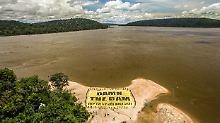 Größtes Wasserbecken Südamerikas: Staudamm-Projekt bedroht Amazonas