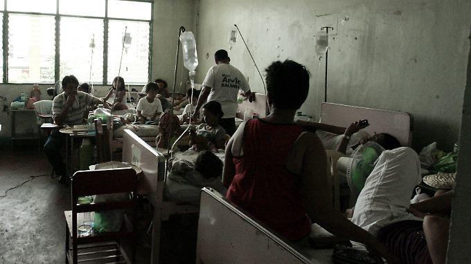 Ein öffentliches Krankenhaus in Manila. Keine Sorge: Die Wahrscheinlichkeit, dass Europäer in einem dieser oft überfüllten Krankenhäuser landen, ist sehr gering.
