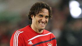 Luca Toni spielte von 2007 bis 2010 beim FC Bayern München.