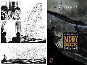 """""""Moby Dick"""" ist bei Egmont Graphic Novel erschienen, 256 Seiten im Hardcover, 29,99 Euro."""