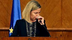 """Reaktionen auf Anschläge in Brüssel: """"Heute ist ein sehr schwerer Tag"""""""