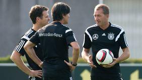 Zum ersten DFB-Teamtraining im EM-Jahr standen Bundestrainer Joachim Löw in Berlin nur 14 von 26 nominierten Spielern zur Verfügung.