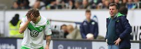 Ultimatum und Unterstützung: Wolfsburg steht zu Kruse - mit Bedingungen